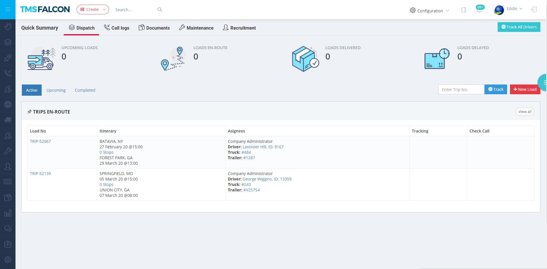 TMSFALCON Web App