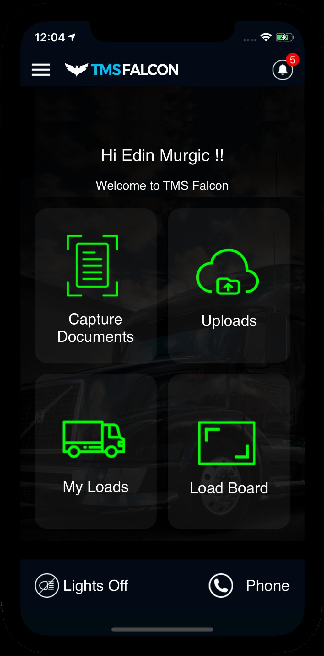TMSFALCON App